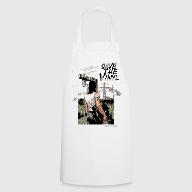 Electro DJ Turntable Save the Vinyl - Cooking Apron
