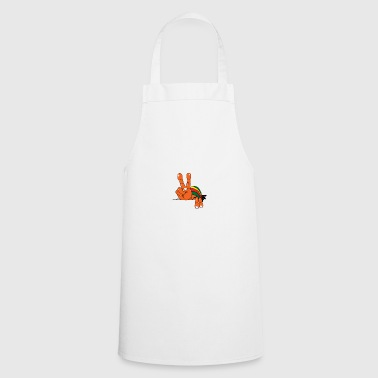 Rasta Peace and Love Symbol - Cooking Apron