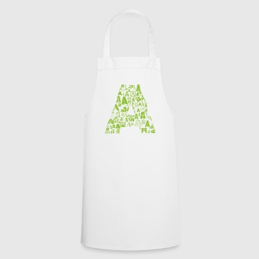 Font Fashion A - Cooking Apron