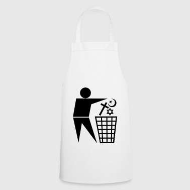 Religions to the trash - Cooking Apron