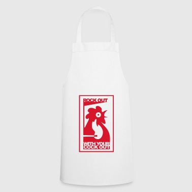 ROCK OUT WITH YOUR COCK OUT - Cooking Apron