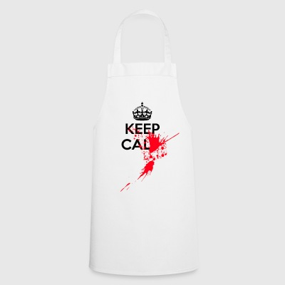 Keep calm serial killer - Cooking Apron