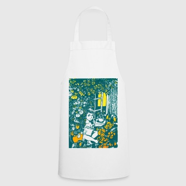 Reading boy - Cooking Apron