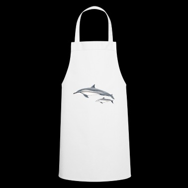 Dolphin acrobat - Long-beaked dolphin - Dauphin - Cooking Apron