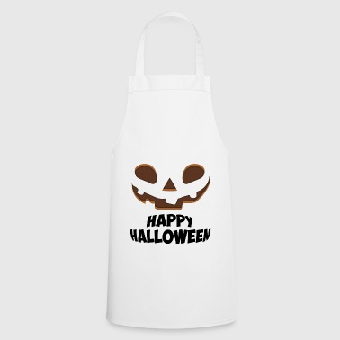 Happy Halloween Face - Cooking Apron