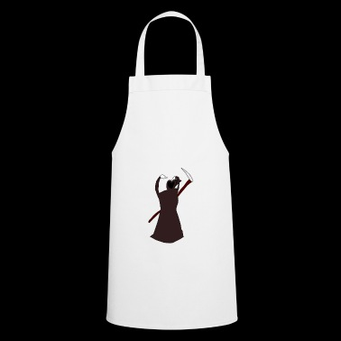 Dead expresses a heart - Cooking Apron