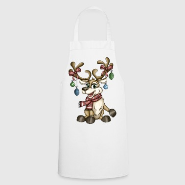 Reindeer Rudi version 2 - Cooking Apron