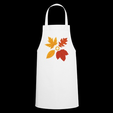 Autumn Autumn Leaves Leaves Gift - Cooking Apron