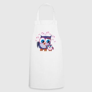 10-31 OWLS - DOGS - Cooking Apron