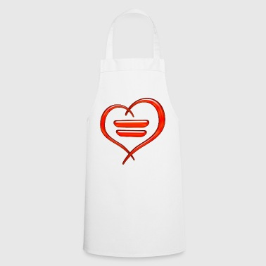 equality symbol - Cooking Apron