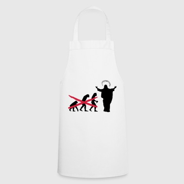 Church - Evolution Gift - Cooking Apron