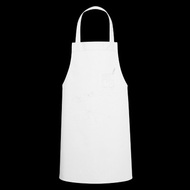 Brush stroke (for dark fabric) - Cooking Apron
