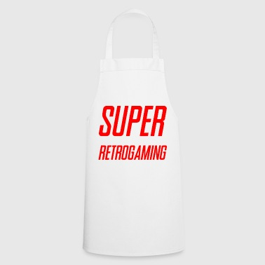 SUPER RETROGAMING - Tablier de cuisine