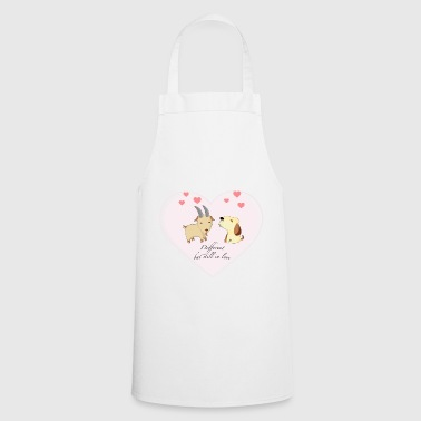 Different, but still in love - Cooking Apron