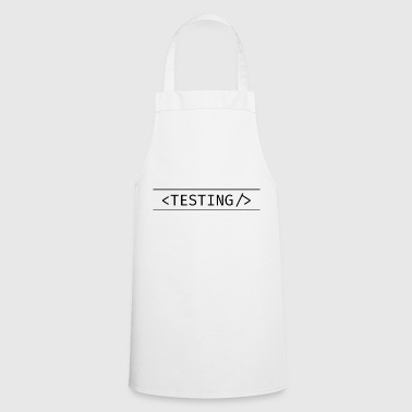Testing day - Cooking Apron