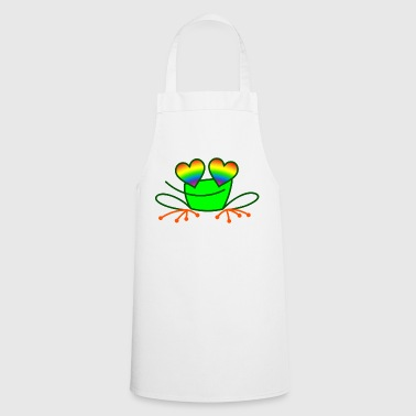 Pride Frog in Love - Delantal de cocina