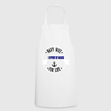 Navy Wife - Cooking Apron
