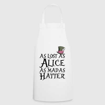 as lost as Alice - Grembiule da cucina