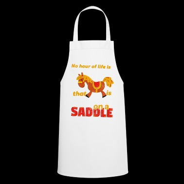 Spend on a Saddle - Cooking Apron