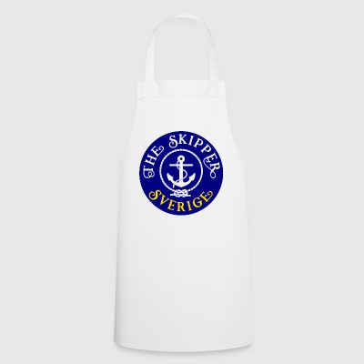 Sailor Skipper Sailing Sweden Anchor Boat Yacht - Cooking Apron