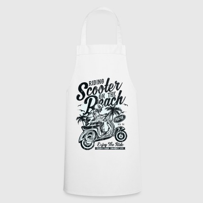 ENJOY THE RIDE - Moped Scooter Shirt Motiv - Cooking Apron