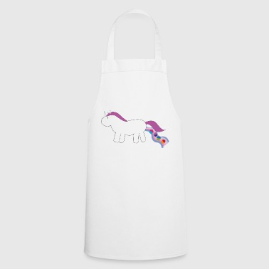 Unicorn cupcakes - Cooking Apron
