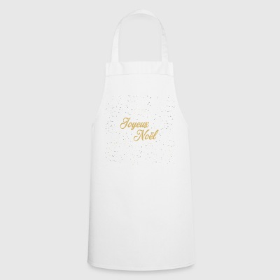 Merry Christmas and glitter - Cooking Apron