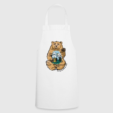 Happy belly bear - Cooking Apron