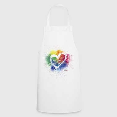 Little Rainbow T-Shirt - Cooking Apron