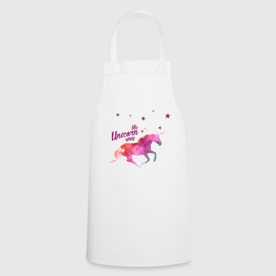 My unicorn way femme - Tablier de cuisine