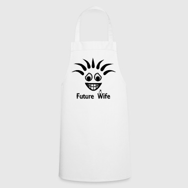 Future Wife. Bachelorette Party - Cooking Apron