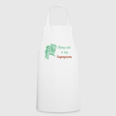 cute old school - Cooking Apron
