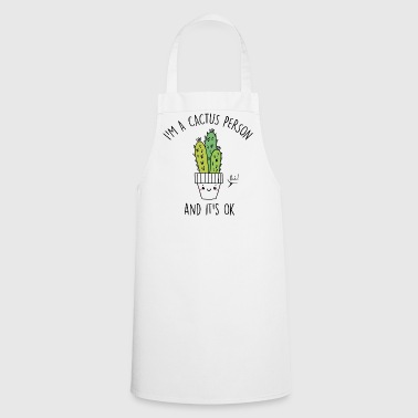 Cactus Person - Cooking Apron