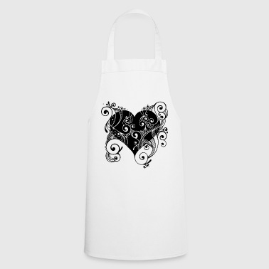 Heart in bloom - Cooking Apron