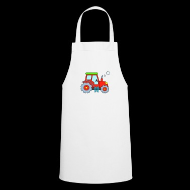 Tractor - Red Tractor - Tractor - Cooking Apron