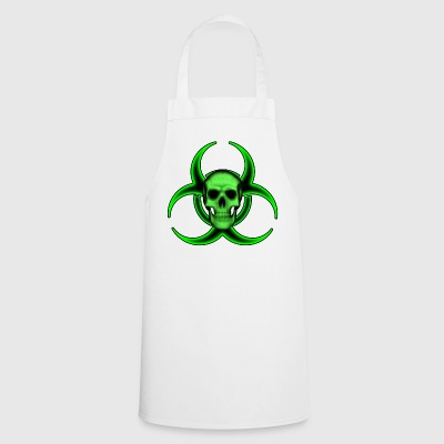 Biohazard Skull - Cooking Apron