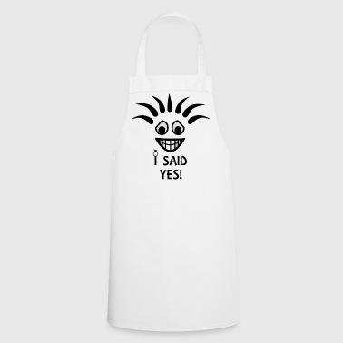 I said Yes! Future Wife! Engagement party! - Cooking Apron