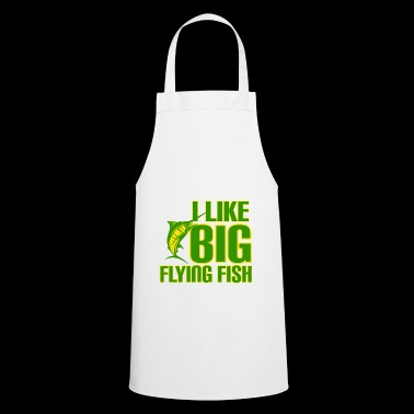 fishing fisher sea boat relax fish angel fisherman - Cooking Apron