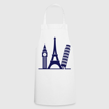 Europe / London / Paris / Pisa - Cooking Apron