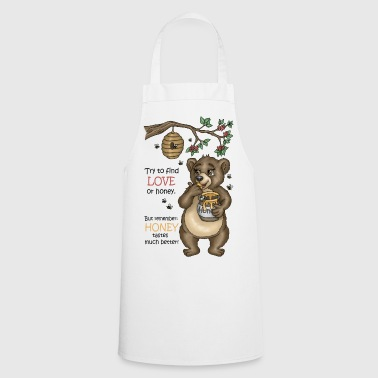 Brown bear Uncle Simson Version 3 - Cooking Apron