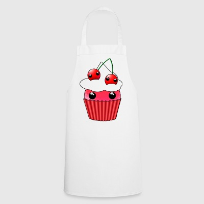 Cherry Kawaii Cupcake - Cooking Apron