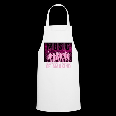 Music is the language - Cooking Apron