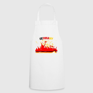 Allemagne fans de Fan Shirt de football - Tablier de cuisine