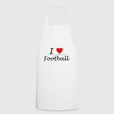 I Love Football - Cooking Apron
