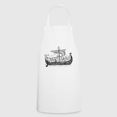 boat sailing boat uboot sailboat sailing yacht - Cooking Apron