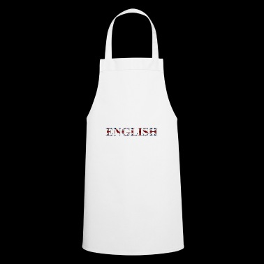 English word - Cooking Apron