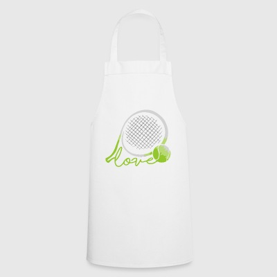 LOVE TENNIS - Cooking Apron