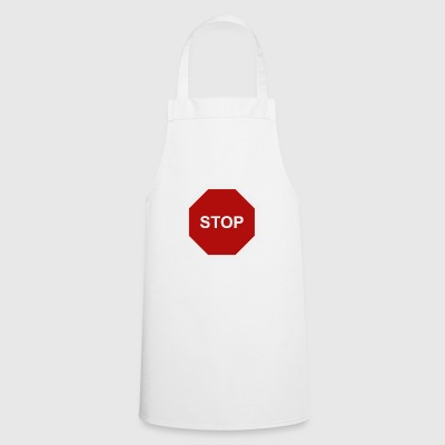 stop sign - Cooking Apron