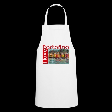 I love Portofino. Italy. - Cooking Apron