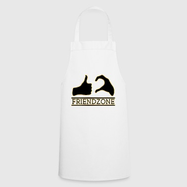 Friendzone Gold friend Love Love Single gift - Cooking Apron